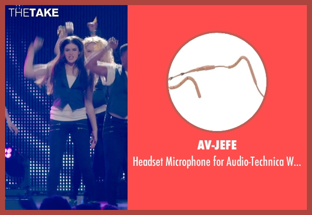 AV-JEFE systems from Pitch Perfect 2 seen with Hailee Steinfeld (Emily Hobbs)