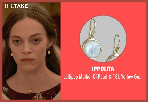 Ippolita gold earrings from Ricki and the Flash seen with Hailey Gates (Emily Hobbs)