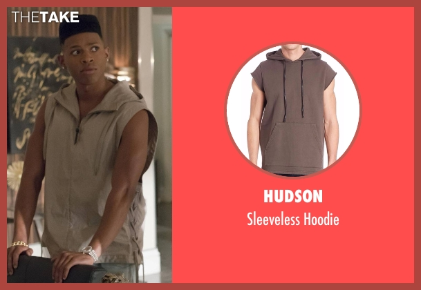Hudson beige hoodie from Empire seen with Hakeem Lyon (Bryshere Y. Gray)