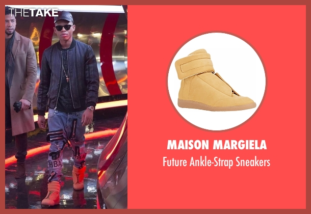 Maison Margiela beige sneakers from Empire seen with Hakeem Lyon (Bryshere Y. Gray)