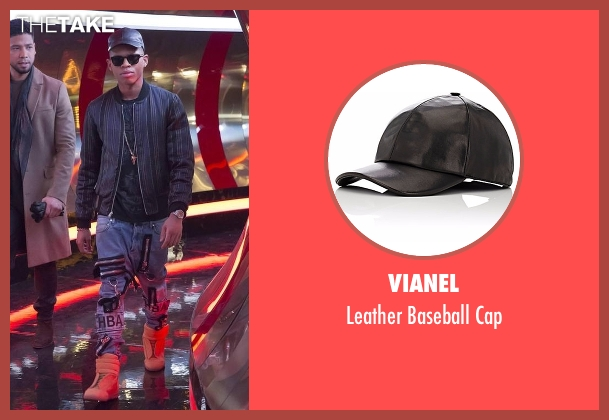 Vianel black cap from Empire seen with Hakeem Lyon (Bryshere Y. Gray)