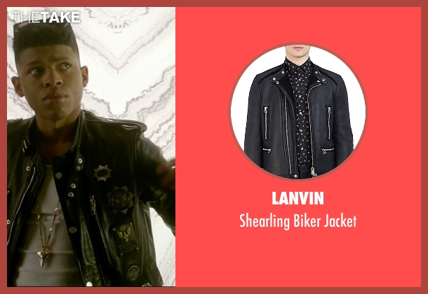 Lanvin black jacket from Empire seen with Hakeem Lyon (Bryshere Y. Gray)