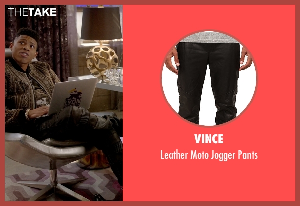 Vince black pants from Empire seen with Hakeem Lyon (Bryshere Y. Gray)