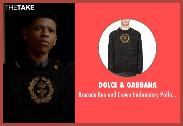 Dolce & Gabbana black pullover from Empire seen with Hakeem Lyon (Bryshere Y. Gray)
