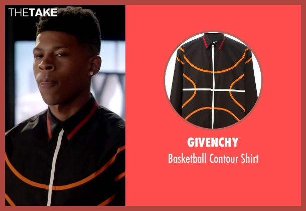 Givenchy black shirt from Empire seen with Hakeem Lyon (Bryshere Y. Gray)