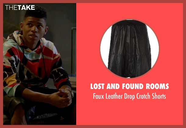 Lost And Found Rooms black shorts from Empire seen with Hakeem Lyon (Bryshere Y. Gray)