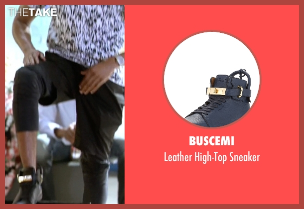 Buscemi black sneaker from Empire seen with Hakeem Lyon (Bryshere Y. Gray)
