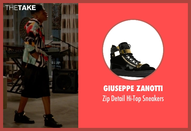 Giuseppe Zanotti black sneakers from Empire seen with Hakeem Lyon (Bryshere Y. Gray)
