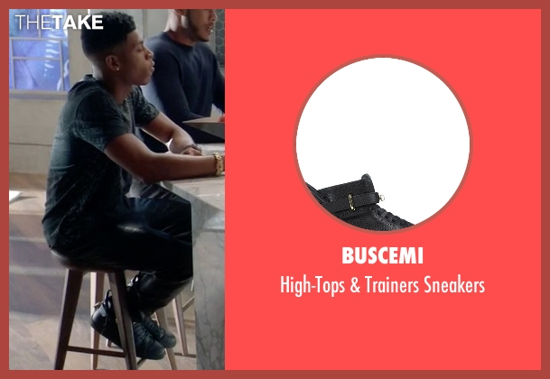 Buscemi black sneakers from Empire seen with Hakeem Lyon (Bryshere Y. Gray)