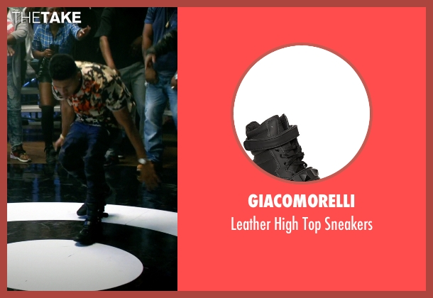 Giacomorelli black sneakers from Empire seen with Hakeem Lyon (Bryshere Y. Gray)