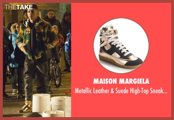 Maison Margiela black sneakers from Empire seen with Hakeem Lyon (Bryshere Y. Gray)