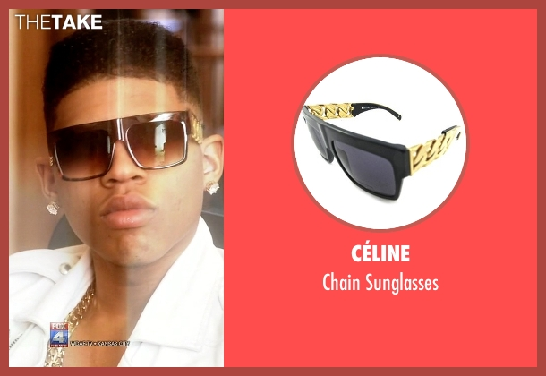 Céline black sunglasses from Empire seen with Hakeem Lyon (Bryshere Y. Gray)