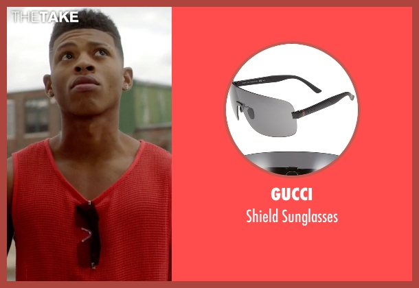 Gucci black sunglasses from Empire seen with Hakeem Lyon (Bryshere Y. Gray)
