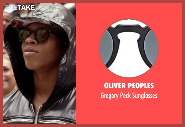 Oliver Peoples black sunglasses from Empire seen with Hakeem Lyon (Bryshere Y. Gray)