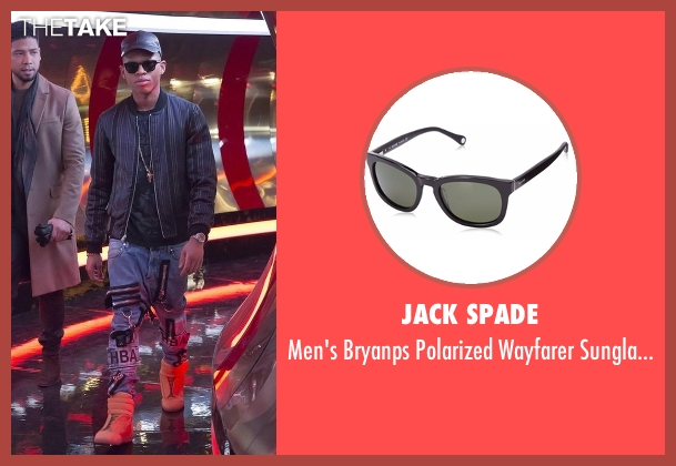 Jack Spade  black sunglasses from Empire seen with Hakeem Lyon (Bryshere Y. Gray)