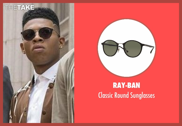 Ray-Ban black sunglasses from Empire seen with Hakeem Lyon (Bryshere Y. Gray)