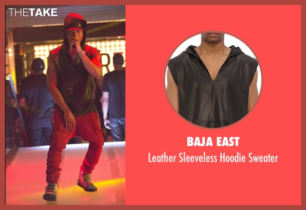 Baja East black sweater from Empire seen with Hakeem Lyon (Bryshere Y. Gray)