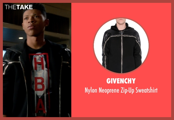 Givenchy black sweatshirt from Empire seen with Hakeem Lyon (Bryshere Y. Gray)
