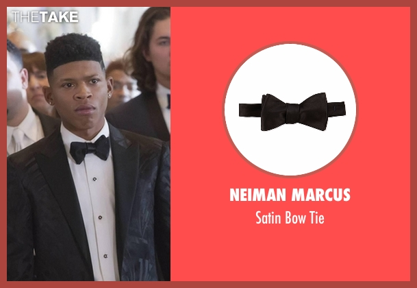 Neiman Marcus black tie from Empire seen with Hakeem Lyon (Bryshere Y. Gray)