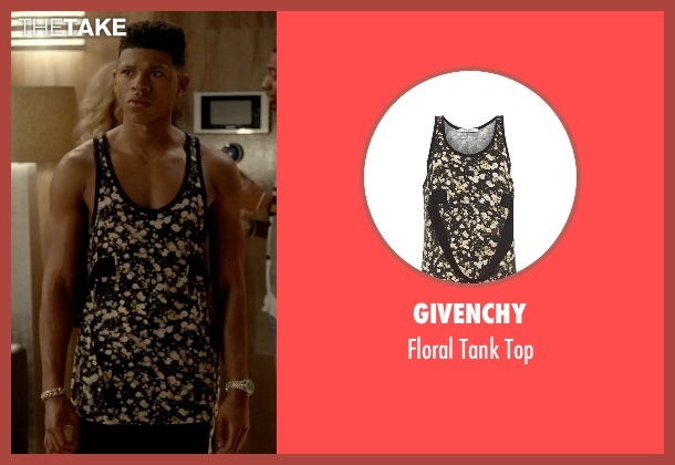 Givenchy black top from Empire seen with Hakeem Lyon (Bryshere Y. Gray)