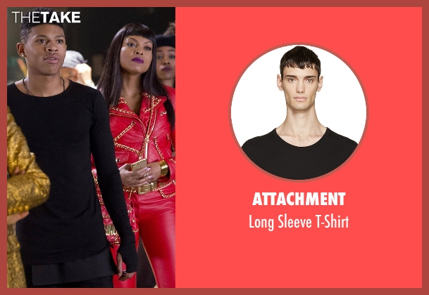 Attachment black t-shirt from Empire seen with Hakeem Lyon (Bryshere Y. Gray)