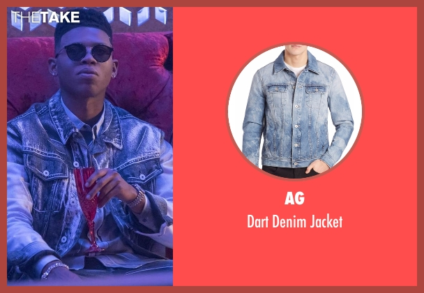 AG blue jacket from Empire seen with Hakeem Lyon (Bryshere Y. Gray)