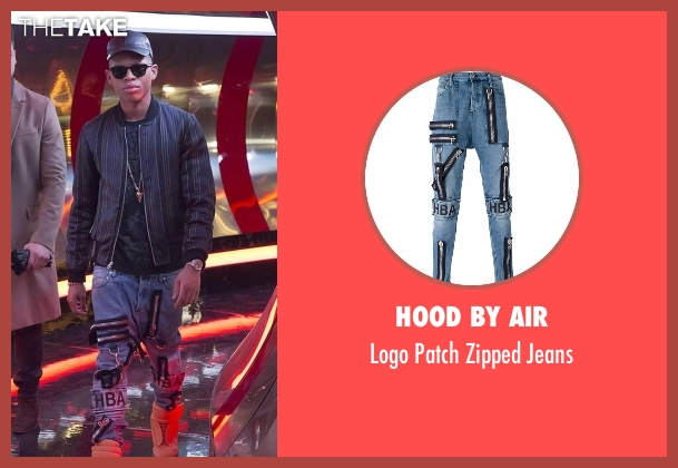 Hood By Air blue jeans from Empire seen with Hakeem Lyon (Bryshere Y. Gray)