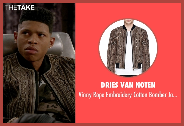 Dries Van Noten brown jacket from Empire seen with Hakeem Lyon (Bryshere Y. Gray)
