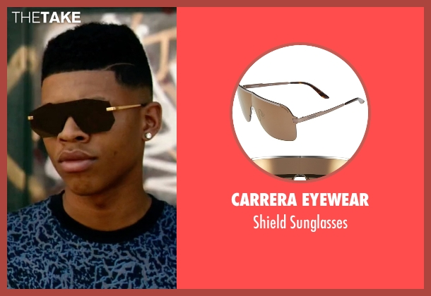 Carrera Eyewear brown sunglasses from Empire seen with Hakeem Lyon (Bryshere Y. Gray)