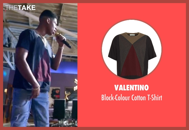 Valentino brown t-shirt from Empire seen with Hakeem Lyon (Bryshere Y. Gray)