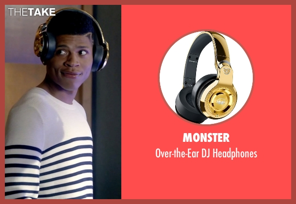 Monster gold headphones from Empire seen with Hakeem Lyon (Bryshere Y. Gray)