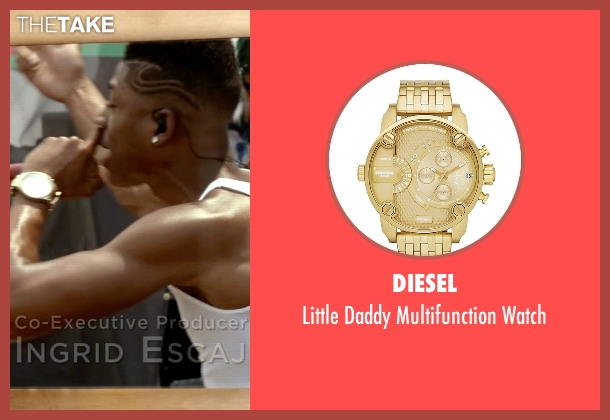 Diesel gold watch from Empire seen with Hakeem Lyon (Bryshere Y. Gray)