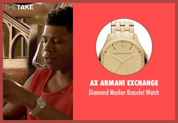 AX Armani Exchange gold watch from Empire seen with Hakeem Lyon (Bryshere Y. Gray)