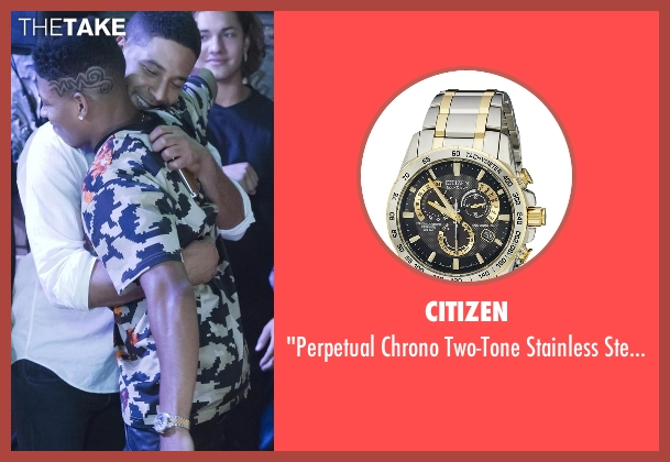 Citizen gold watch from Empire seen with Hakeem Lyon (Bryshere Y. Gray)
