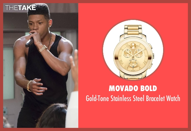 Movado Bold gold watch from Empire seen with Hakeem Lyon (Bryshere Y. Gray)