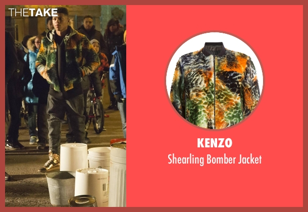 Kenzo green jacket from Empire seen with Hakeem Lyon (Bryshere Y. Gray)