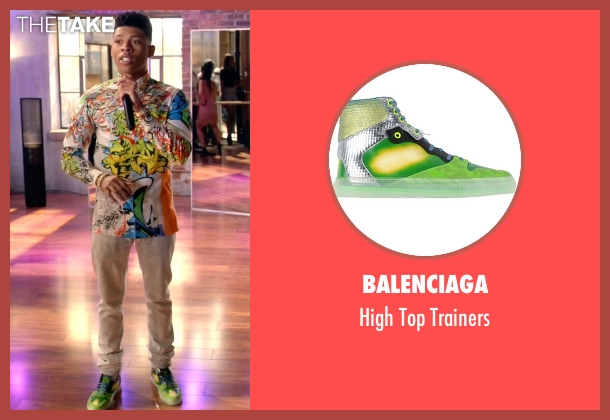 Balenciaga  green trainers from Empire seen with Hakeem Lyon (Bryshere Y. Gray)