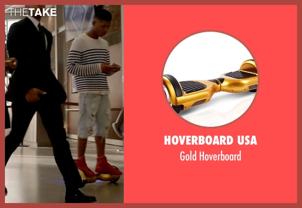 Hoverboard USA hoverboard from Empire seen with Hakeem Lyon (Bryshere Y. Gray)