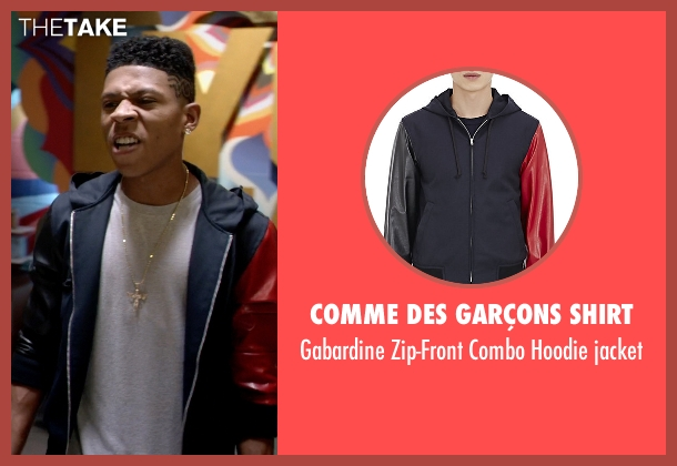 Comme Des Garçons Shirt jacket from Empire seen with Hakeem Lyon (Bryshere Y. Gray)