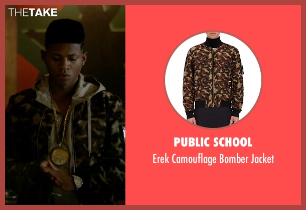 Public School jacket from Empire seen with Hakeem Lyon (Bryshere Y. Gray)