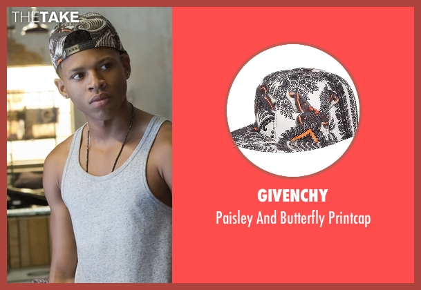 Givenchy printcap from Empire seen with Hakeem Lyon (Bryshere Y. Gray)
