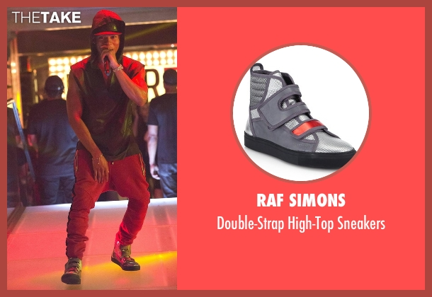 Raf Simons silver sneakers from Empire seen with Hakeem Lyon (Bryshere Y. Gray)