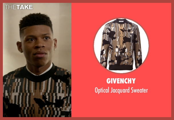Givenchy sweater from Empire seen with Hakeem Lyon (Bryshere Y. Gray)