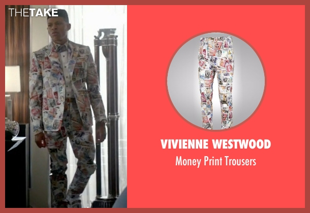 Vivienne Westwood trousers from Empire seen with Hakeem Lyon (Bryshere Y. Gray)