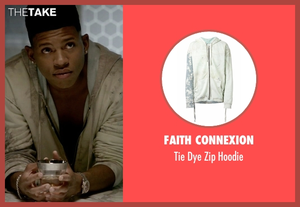 Faith Connexion white hoodie from Empire seen with Hakeem Lyon (Bryshere Y. Gray)