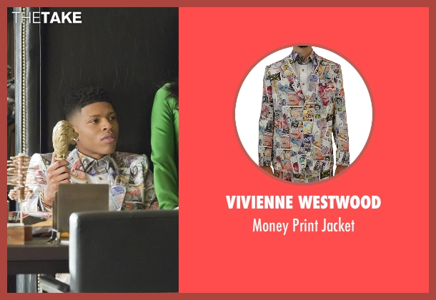 Vivienne Westwood white jacket from Empire seen with Hakeem Lyon (Bryshere Y. Gray)