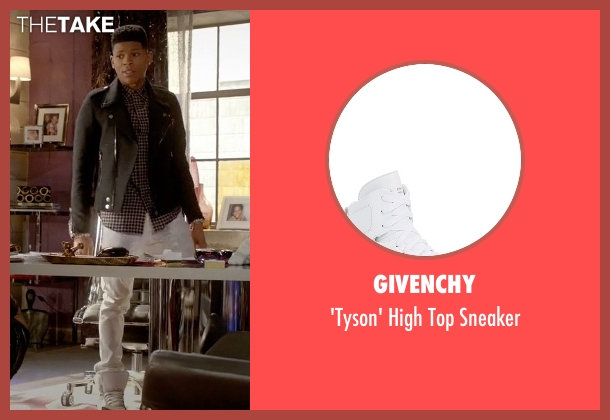Givenchy white sneaker from Empire seen with Hakeem Lyon (Bryshere Y. Gray)