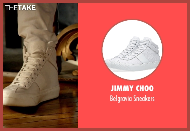 Jimmy Choo white sneakers from Empire seen with Hakeem Lyon (Bryshere Y. Gray)