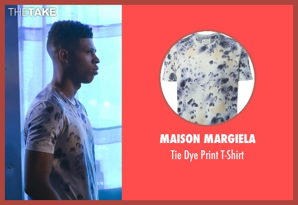 Maison Margiela white t-shirt from Empire seen with Hakeem Lyon (Bryshere Y. Gray)