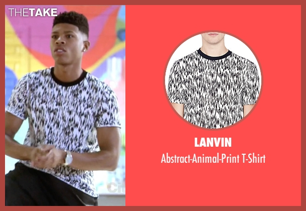 Lanvin white t-shirt from Empire seen with Hakeem Lyon (Bryshere Y. Gray)